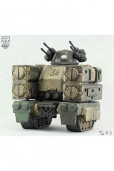 Acid Rain Action Mecha Fahrzeug mit Leuchtfunktion 1/18 Stronghold (Marine) 26 cm