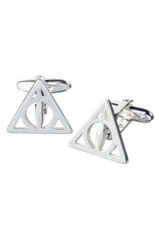 Harry Potter Manschettenknöpfe Heiligtümer des Todes (Sterling Silber)