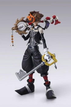 Kingdom Hearts II Play Arts Kai Actionfigur Sora Halloween Town Ver. 21 cm