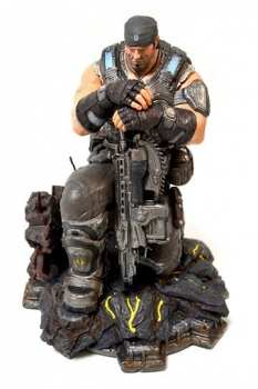 Gears of War 3 Collectors Edition PVC Statue Marcus Fenix 28 cm