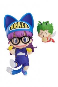 Dr. Slump Nendoroid Actionfigur Arale Norimaki Cat Ears Ver. & Gatchan 10 cm