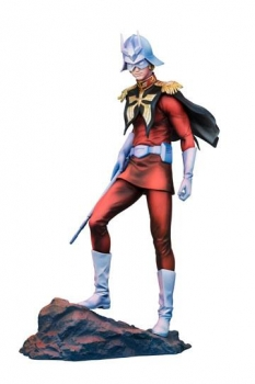 Mobile Suit Gundam GGG Statue Char Aznable Art Graphics Version 23 cm