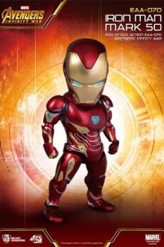 Avengers Infinity War Egg Attack Actionfigur Iron Man Mark 50 16 cm