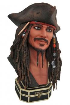 Fluch der Karibik Legends in 3D Büste 1/2 Jack Sparrow 25 cm