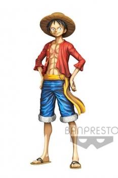 One Piece Master Star Piece PVC Statue Monkey D. Ruffy Manga Dimension 27 cm