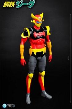Steel Jeeg Vinyl Figur Cyborg Hiroshi 23 cm