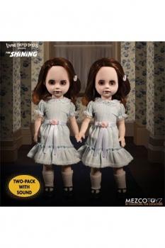 Shining Living Dead Dolls Puppen mit Sound The Grady Twins 25 cm