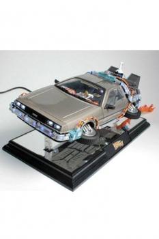Zurück in die Zukunft II Schwebe-Modell mit Leuchtfunktion DeLorean Time Machine 22 cm