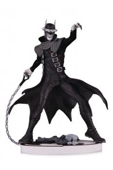 Batman Black & White Statue The Batman Who Laughs 2nd Edition 19 cm