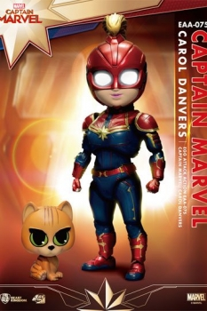 Captain Marvel Egg Attack Actionfigur Captain Marvel 17 cm