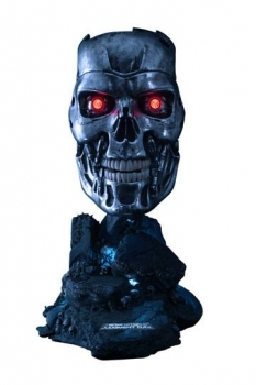 Terminator 2 - Tag der Abrechnung Replik 1/1 T-800 Endoskelett Maske 46 cm