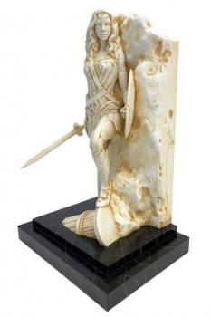 DC Comics Fine Art Statue Neo-Classical Wonder Woman Marble Finish 35 cm