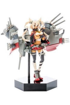 Kantai Collection Plastic Model Kit 1/20 PLAMAX MF-18 minimum factory Musashi 9 cm