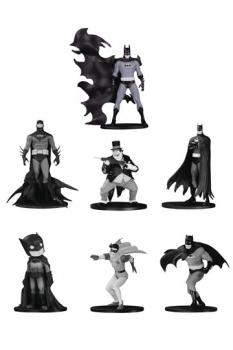 Batman Black & White PVC Minifiguren 7er-Pack Box Set #4 10 cm