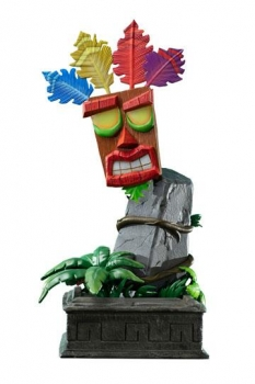 Crash Bandicoot Statue Mini Aku Aku Maske 40 cm