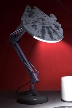 Star Wars USB Schreibtischlampe Millennium Falcon 60 cm
