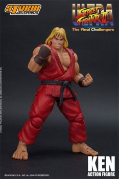 Ultra Street Fighter II: The Final Challengers Actionfigur 1/12 Ken 16 cm