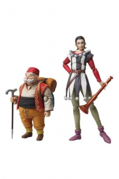Dragon Quest XI Echoes of an Elusive Age Bring Arts Actionfiguren Sylvando & Rab 12 - 15 cm