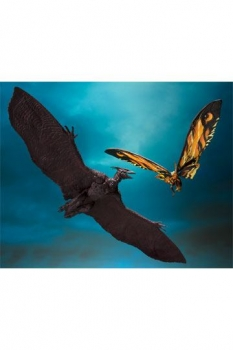 Godzilla: King of the Monsters 2019 S.H. MonsterArts Actionfiguren Doppelpack Mothra & Rodan