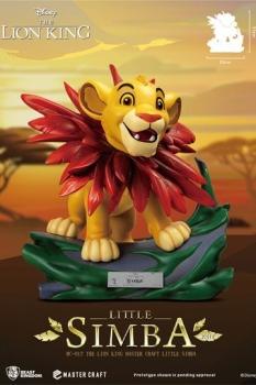 Disney (Der König der Löwen) Master Craft Statue Little Simba 31 cm