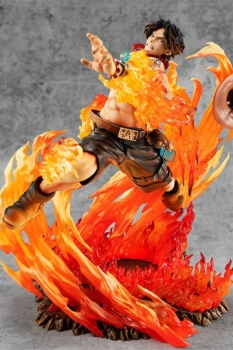 One Piece P.O.P PVC Statue NEO-Maximum Portgas D. Ace 15th Anniversary Limited Ver. 23 cm