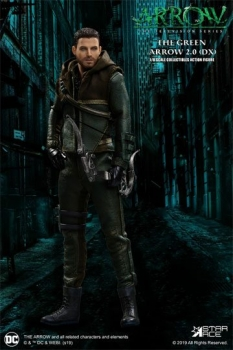 Arrow Real Master Series Actionfigur 1/8 Green Arrow 2.0 Deluxe Version 23 cm