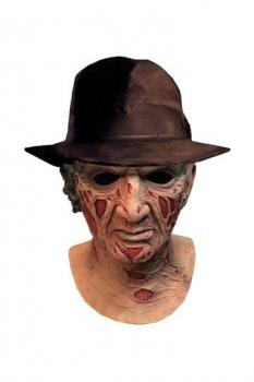 Nightmare - Mörderische Träume Deluxe Latex-Maske mit Hut Freddy Krueger