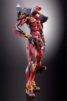 Neon Genesis Evangelion Metal Build Diecast Actionfigur EVA-02 Production Model 22 cm