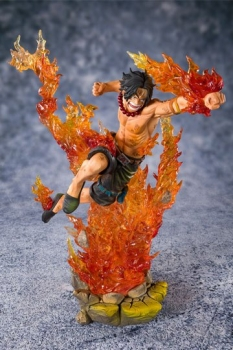 One Piece FiguartsZERO PVC Statue Portgas D. Ace -Commander of the 2nd Division- 20 cm