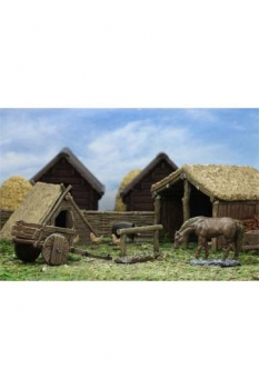 WizKids 4D Settings Miniaturen unbemalt Medieval Farm
