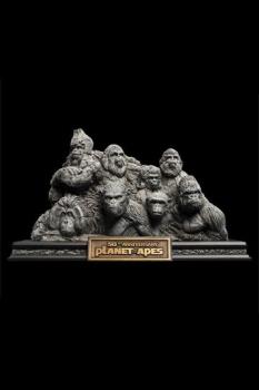 Planet der Affen Statue Apes Through the Ages 29 cm
