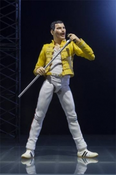 Freddie Mercury S.H. Figuarts Actionfigur 14 cm