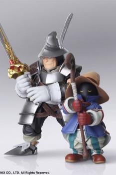 Final Fantasy IX Bring Arts Actionfiguren Vivi Ornitier & Adelbert Steiner 10 - 15 cm