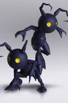 Kingdom Hearts III Bring Arts Actionfiguren Shadow 10 cm