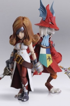 Final Fantasy IX Bring Arts Actionfiguren Freya Crescent & Beatrix 12 - 16 cm