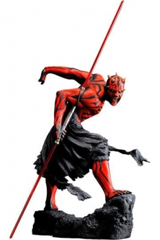Star Wars ARTFX PVC Statue 1/7 Darth Maul Japanese Ukiyo-E Style Light-Up Edition 28 cm