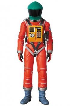 2001: Odyssee im Weltraum MAF EX Actionfigur Space Suit Green Helmet & Orange Suit Ver. 16 cm