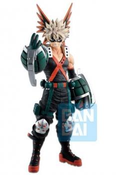 My Hero Academia Ichibansho PVC Statue Katsuki Bakugo (Fighting Heroes feat. Ones Justice) 25 cm