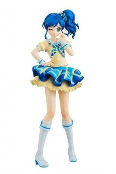 Aikatsu! PVC Statue Lucrea Aoi Kiriya Blue Stage Ver. 22 cm