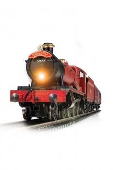 Harry Potter Elektrische Spielzeugeisenbahn 1/100 Hogwarts Express