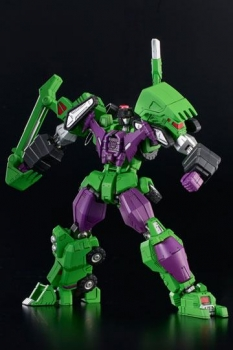 Transformers Furai Model Plastic Model Kit Devastator 18 cm