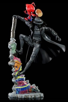 Spider-Man: A New Universe BDS Art Scale Deluxe Statue 1/10 Noir & Spider-Ham