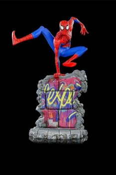 Spider-Man: A New Universe BDS Art Scale Deluxe Statue 1/10 Peter B. Parker