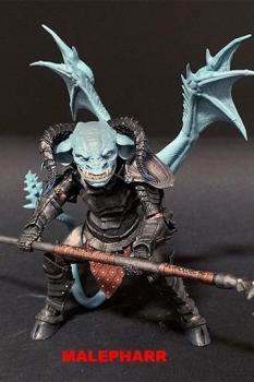Mythic Legions: Arethyr Actionfigur Malepharr 15 cm