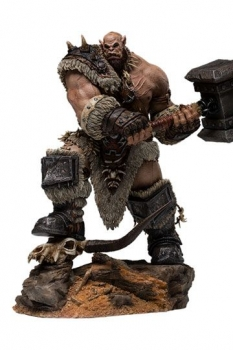 Warcraft: The Beginning Statue 1/9 Orgrim Standard Version 27 cm