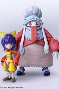 Final Fantasy IX Bring Arts Actionfiguren Eiko Carol & Quina Quen 9 - 14 cm