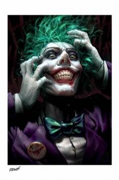 DC Comics Kunstdruck The Joker: Just One Bad Day by Derrick Chew 46 x 61 cm - ungerahmt