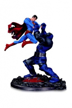 DC Comics Statue Superman vs. Darkseid 3nd Edition 18 cm