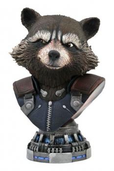 Avengers: Endgame Legends in 3D Büste 1/2 Rocket Raccoon 20 cm