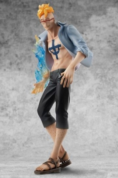 One Piece Excellent Model P.O.P PVC Statue 1/8 Doctor Marco Limited Edition 23 cm